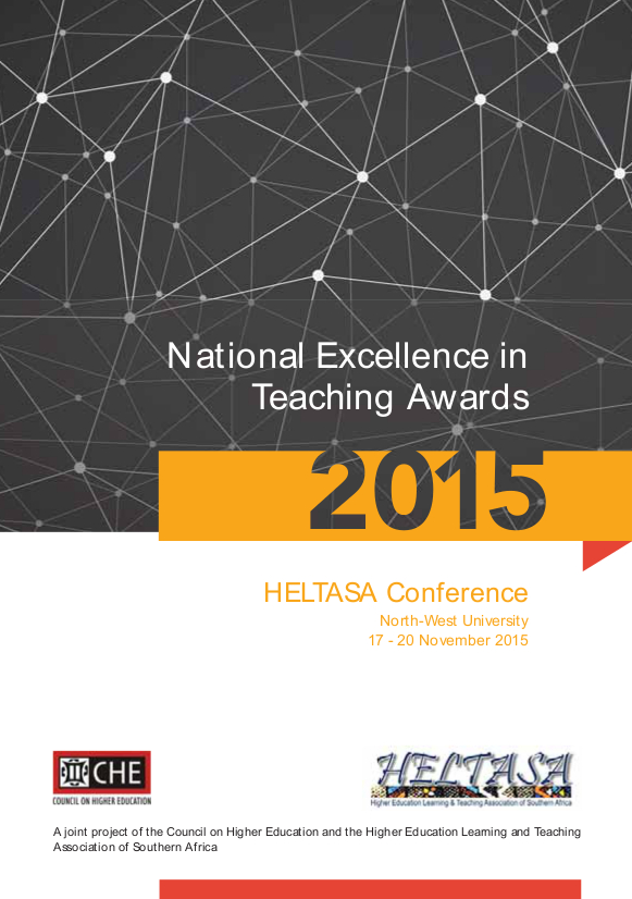 2015 Teaching Awards Final