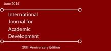 International Journal for Academic Development