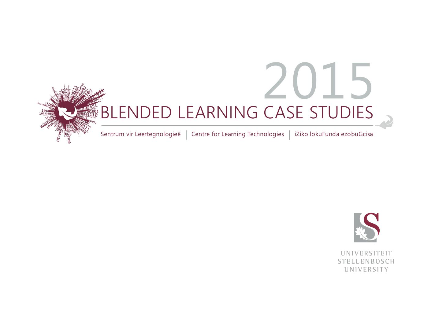 blended learning case studies 2015 SU HELTASA PDSIG