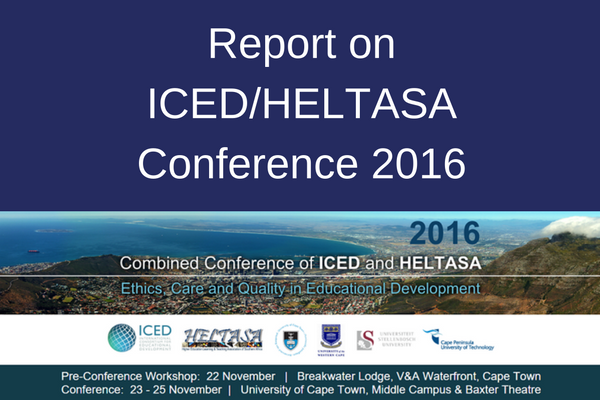 HELTASA Conference report
