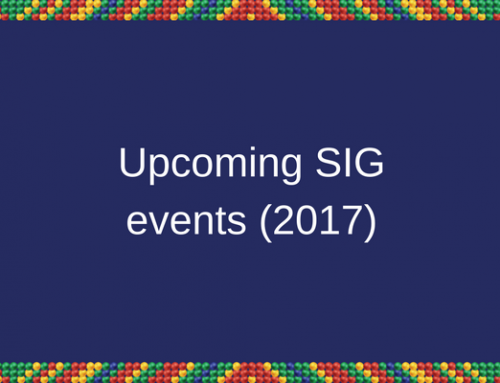 HELTASA SIGs upcoming events for 2017