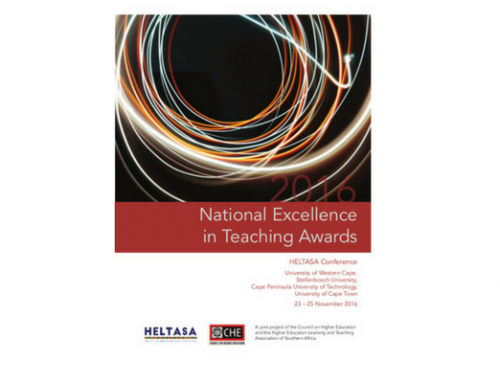 2016 National Excellence in Teaching Awards Booklet