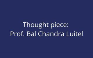 Prof Bal Chandra Luitel