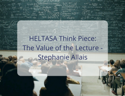 HELTASA Think Piece: Stephanie Allais