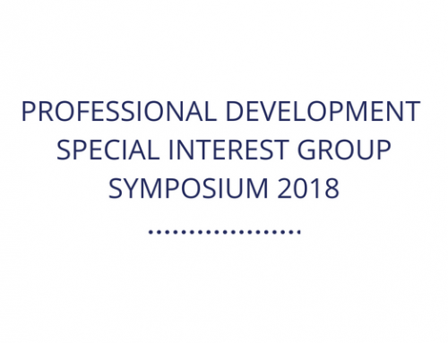 Report: Professional Development Special Interest Group Symposium