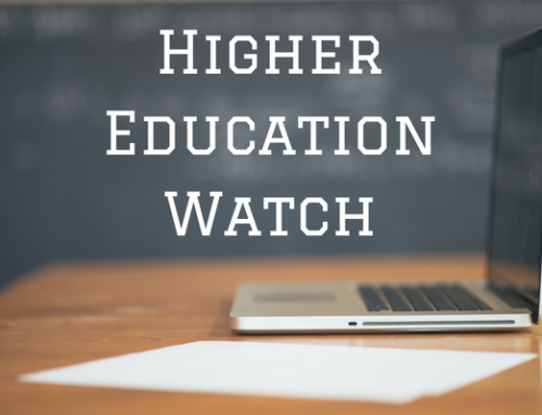 Higher Education Watch: August 2018