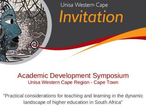 Invitation: Academic Development Symposium