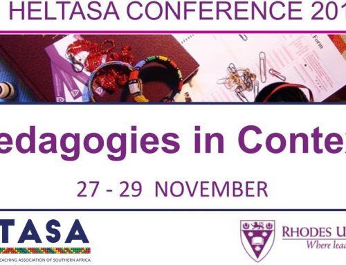 Pre-Conference Workshop Info HELTASA 2019