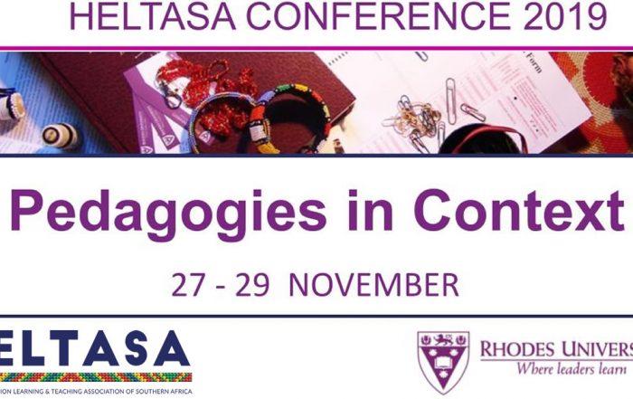 HELTASA conference 2019