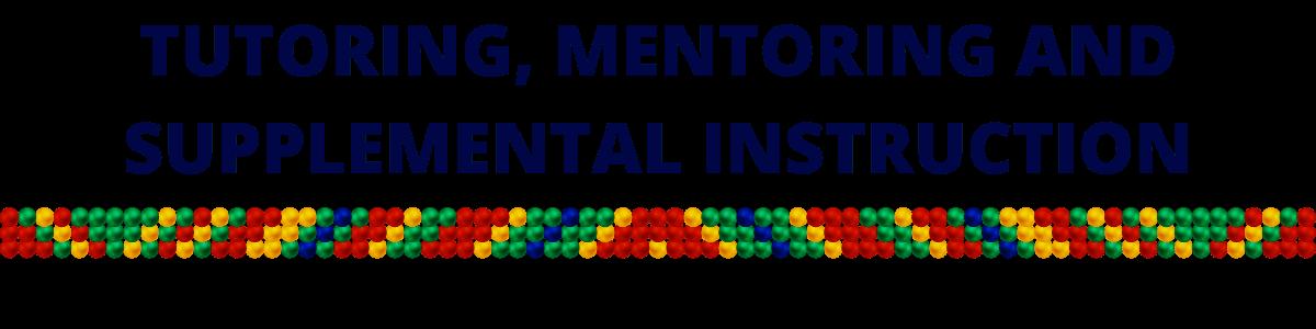 Tutoring, Mentoring and Supplemental Instruction(1)
