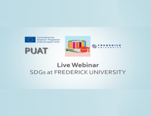 Live webinar: Sustainable Development Goals at Frederick University