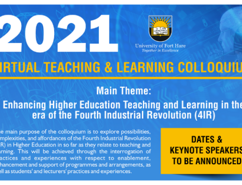 UFH 2021 Virtual Teaching and Learning Colloquium