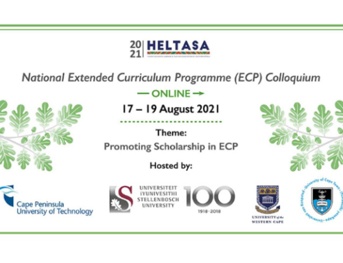 The HELTASA National Extended Curriculum Programme (ECP) Colloquium