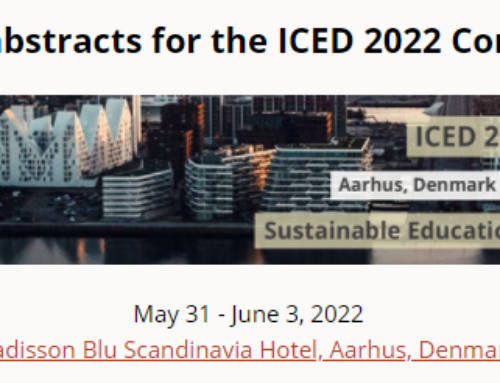 Call for abstracts: ICED 2022 Conference
