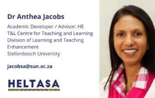 Dr Anthea Jacobs
