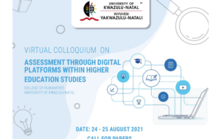 Call for papers: UKZN College of Humanities virtual colloquium on assessment