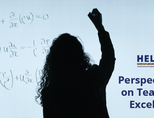 Perspectives on Teaching Excellence Webinar